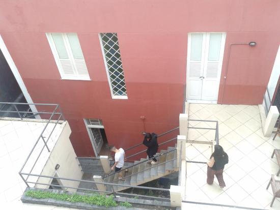 Bossa in Rio Hostel: Vista do segundo andar