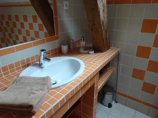Ferme du Genièvre : salle de bain
