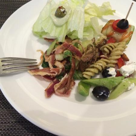 The Cafe@JW: from the salad line