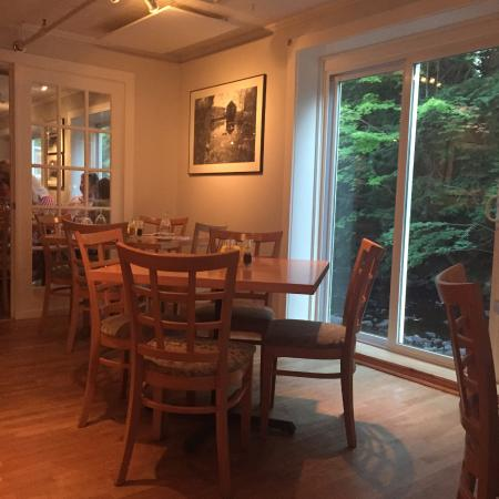 The Waterhouse: Empty Tables