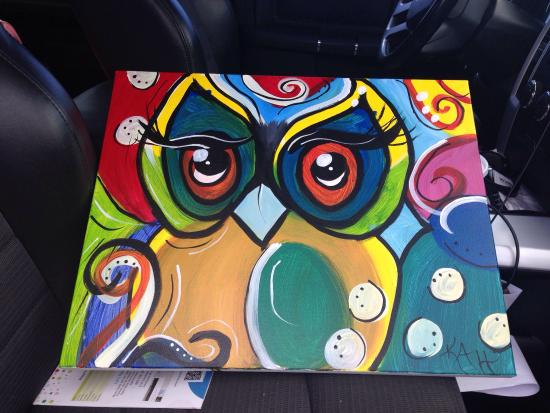 Southaven, MS: Really enjoyed sitting down to paint my first ever painting!  Relaxed atmosphere and reasonable