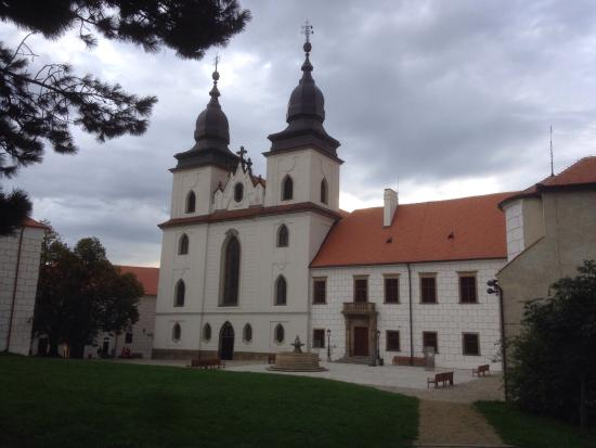 The Jewish Quarter and St Procopius' Basilica in Trebic