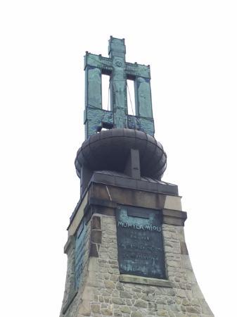 Brno, República Checa: view of monument