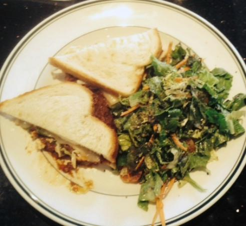 Daily Grill - Tulsa: Short Rib Sammy with Green Salad