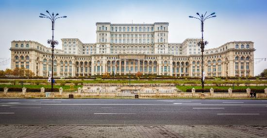 Palace of Parliament: BUCHAREST HOUSE OF PARLIAMENT