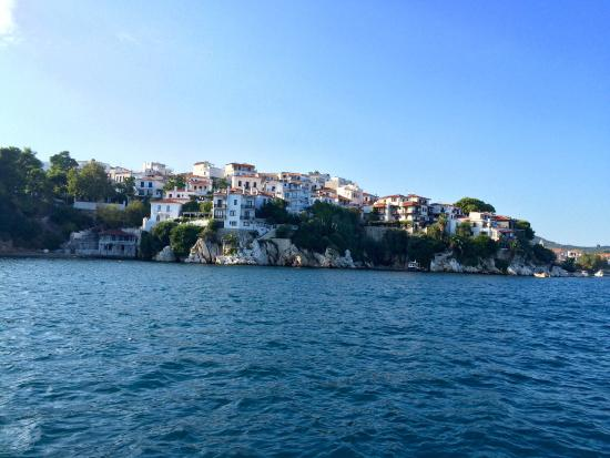 Skiathos town picture of magic hotel agia paraskevi for Skiathos town hotels