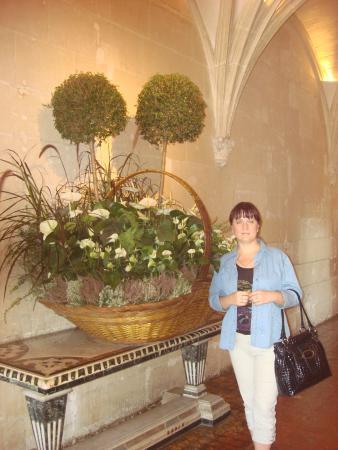 วังเชอนงโซ: Живые цветы