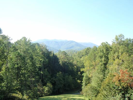 Buckhorn Inn: The view from breakfast, dinner, and many rooms