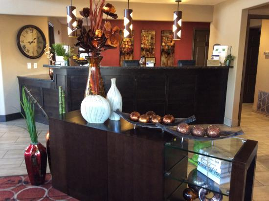 BEST WESTERN Mesquite Inn: Breakfast area (partial)