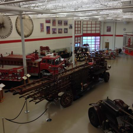 Michigan Firehouse Museum: Firefighting vehicles