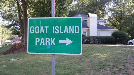 Belmont, NC: Goat Island Park and Greenway