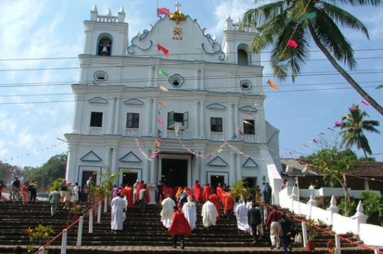 Mapusa, Indie: Church