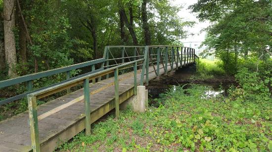 Tullahoma, TN: Bridge along the Greenway.