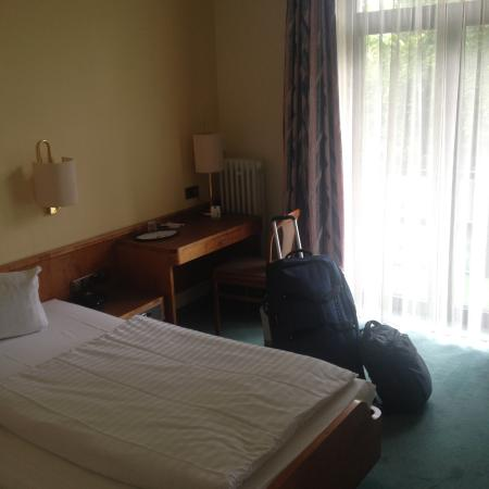 Hotel Klee am Park Wiesbaden : single room