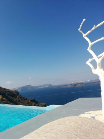 View from Astarte infinity pool