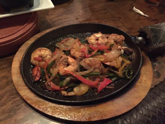 Genial Oaxaca Kitchen: Shrimp Fajitas