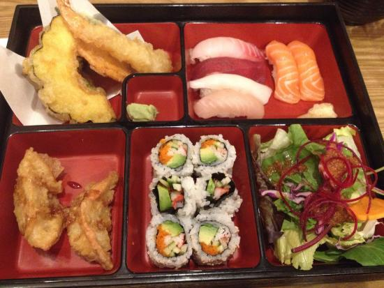 sushi bento box goodness picture of nama sushi toronto tripadvisor. Black Bedroom Furniture Sets. Home Design Ideas