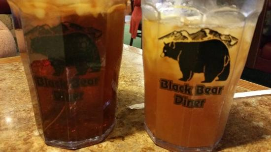 Virtually the only things you can order without an insane amount of salt at Black Bear Diner.