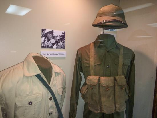 Early Vietnam War NVA uniforms - Picture of Branson Military