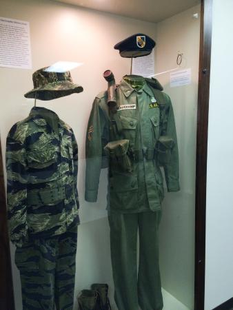 Korean War Chinese uniforms - Picture of Branson Military Museum