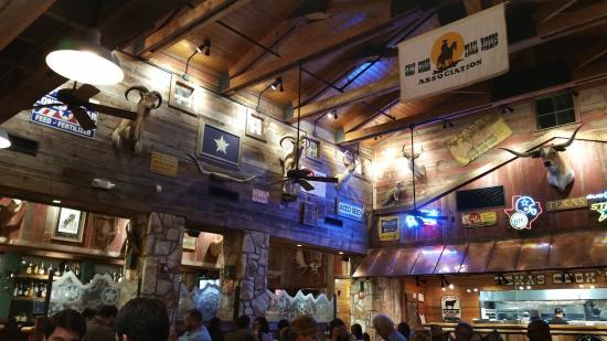 Love That Cowboy Theme Picture Of Saltgrass Steak House Dallas