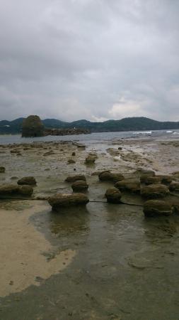 Iwami Tatamigaura Beach: 面白い岩が沢山