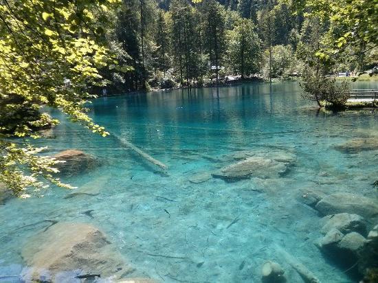blausee schweiz naturpark eintritt