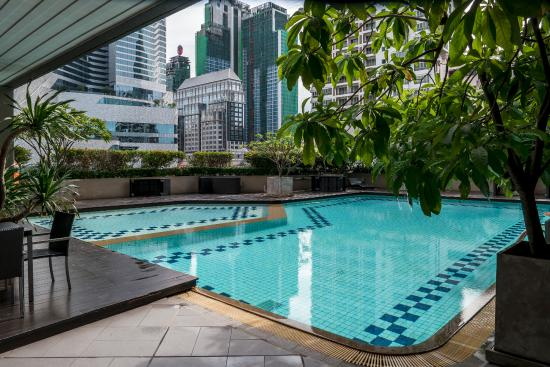 Bliston Suwan Park View: Outdoor swimming pool with kid's wading pool