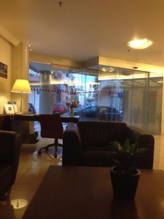 Atrion Hotel: The lobby area