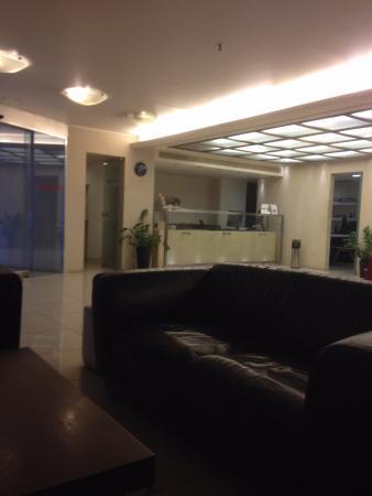 Atrion Hotel: The reception area