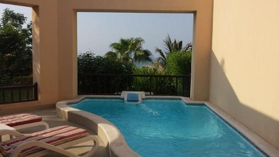 Private Pool From Our Room Picture Of Cove Rotana Resort Ras Al Khaimah Ras Al Khaimah