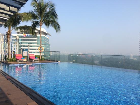 Rooftop Pool Picture Of Aloft Kuala Lumpur Sentral Kuala Lumpur Tripadvisor