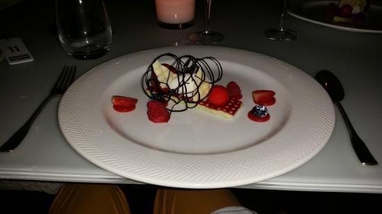 Sandton Hotel Domaine Cocagne: Domaine Cocagne, een voortreffelijk dessert