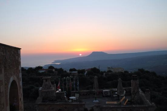 Samonas, Grecia: Sunrise over the coast