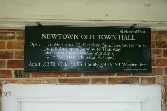 Newtown Old Town Hall: The Old Town Hall at Newtown
