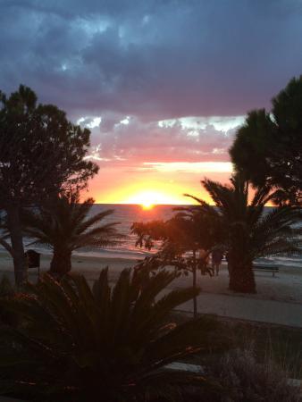 Povljana, Chorwacja: Villa Kastel Jardin restauran terrace view