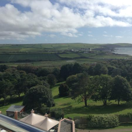 Thurlestone, UK: View from the room