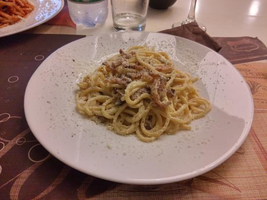 Carbonara foto di caligola cucina romana palermo for Cucina romana