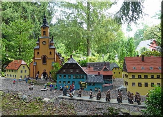 Klein-Erzgebirge: Miniaturwelt