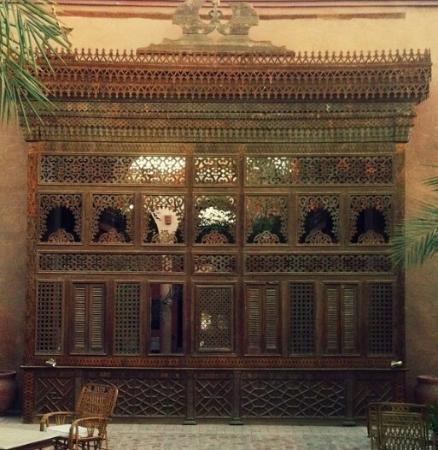 Al Moudira Hotel: Стена. На территории отеля