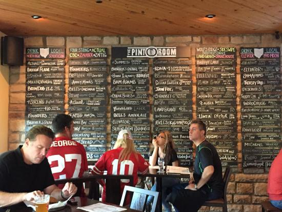 Must stop for craft beer lovers! - Picture of The Pint Room, Dublin ...