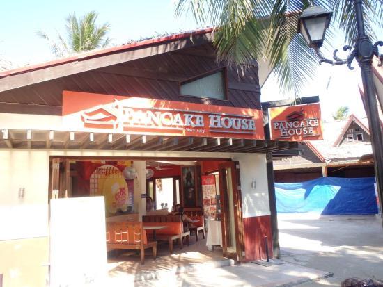 Pancake House: The outside