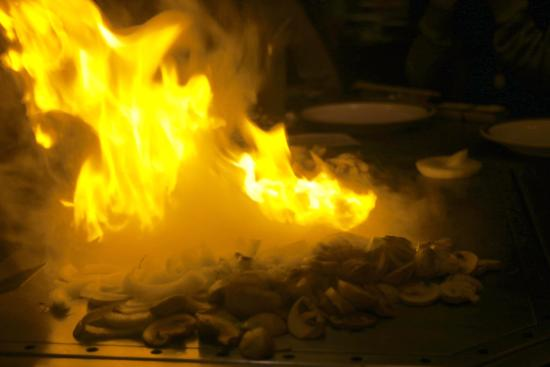 Chop, cook, start on fire, eat...delicious!