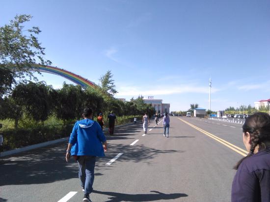 Erenhot, China: 道