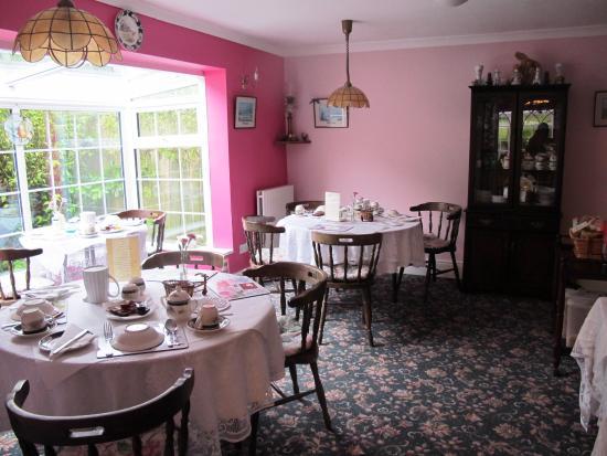 Annamoe, Irlanda: Frühstücksraum