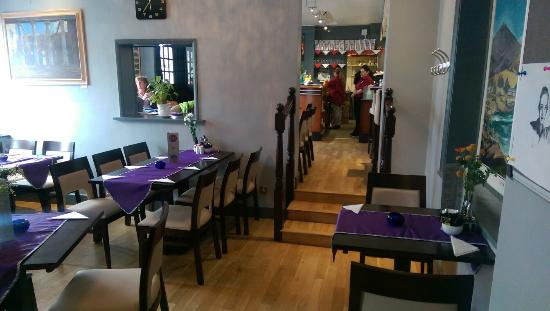 Fouzis after the decoration. - Picture of Fouzi\'s Cafe Bar Pizzeria ...