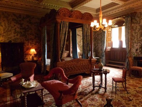 Penrhyn Castle: Kings Bedroom