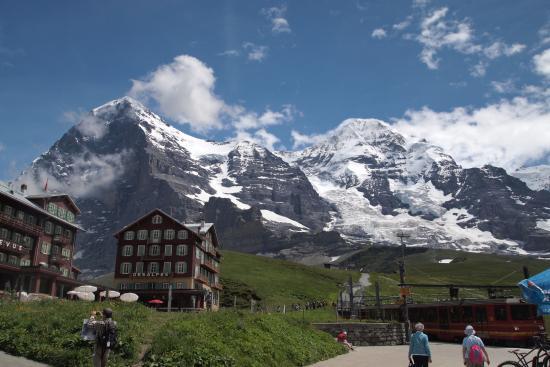 Grindelwald, Zwitserland: クライネシャイデックより