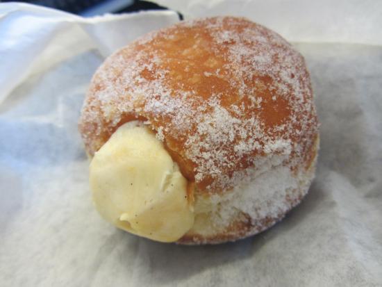 Vanilla Custard Donut - Picture of Bread Ahead Bakery, London ...