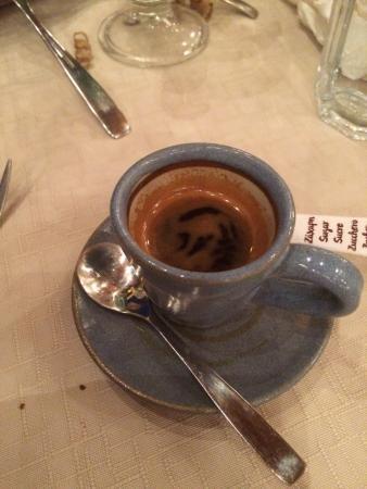 Marathias, Yunani: espresso